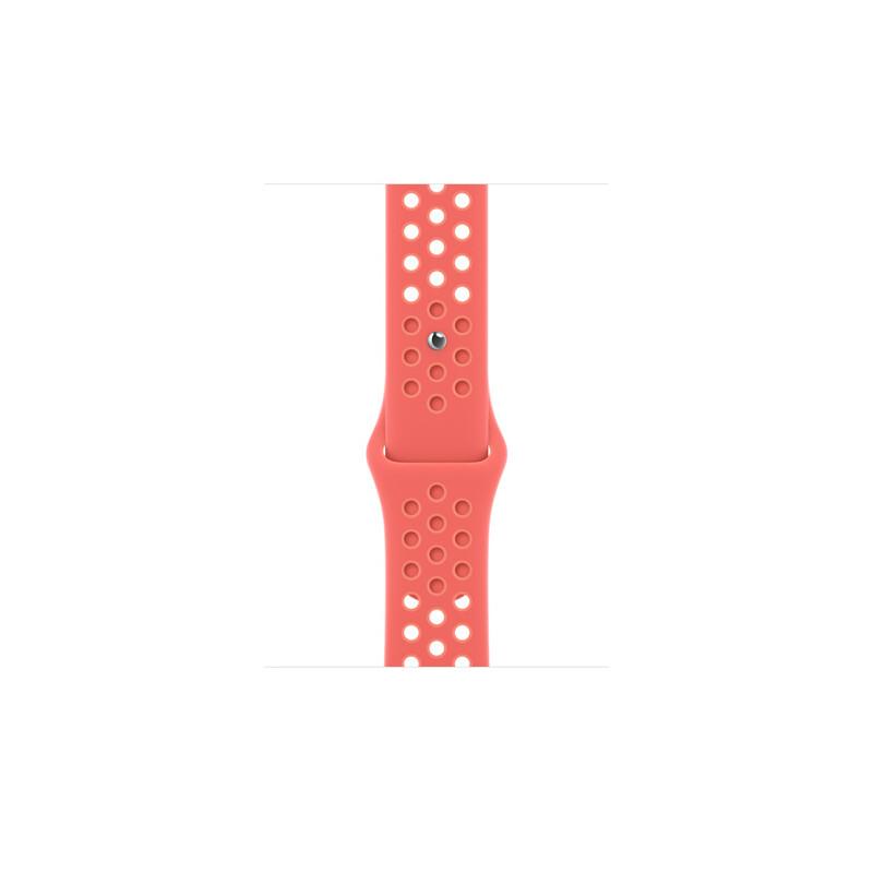 Apple Watch 45mm Nike Sportarmband magic ember/crimso bliss