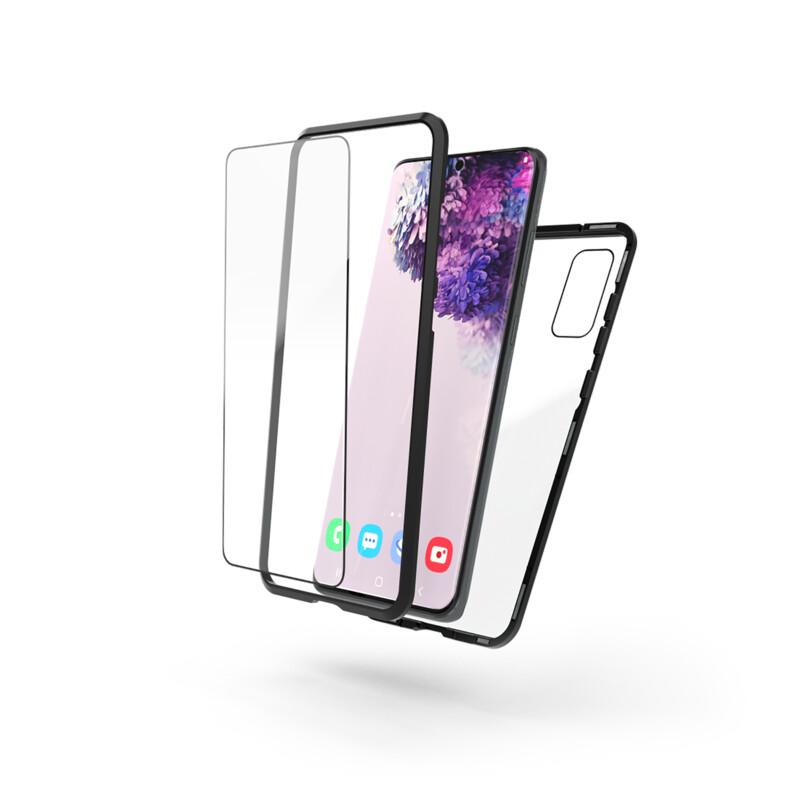 Hama Back Cover Magnetic+Glas+Displayglas Samsung Galaxy S20