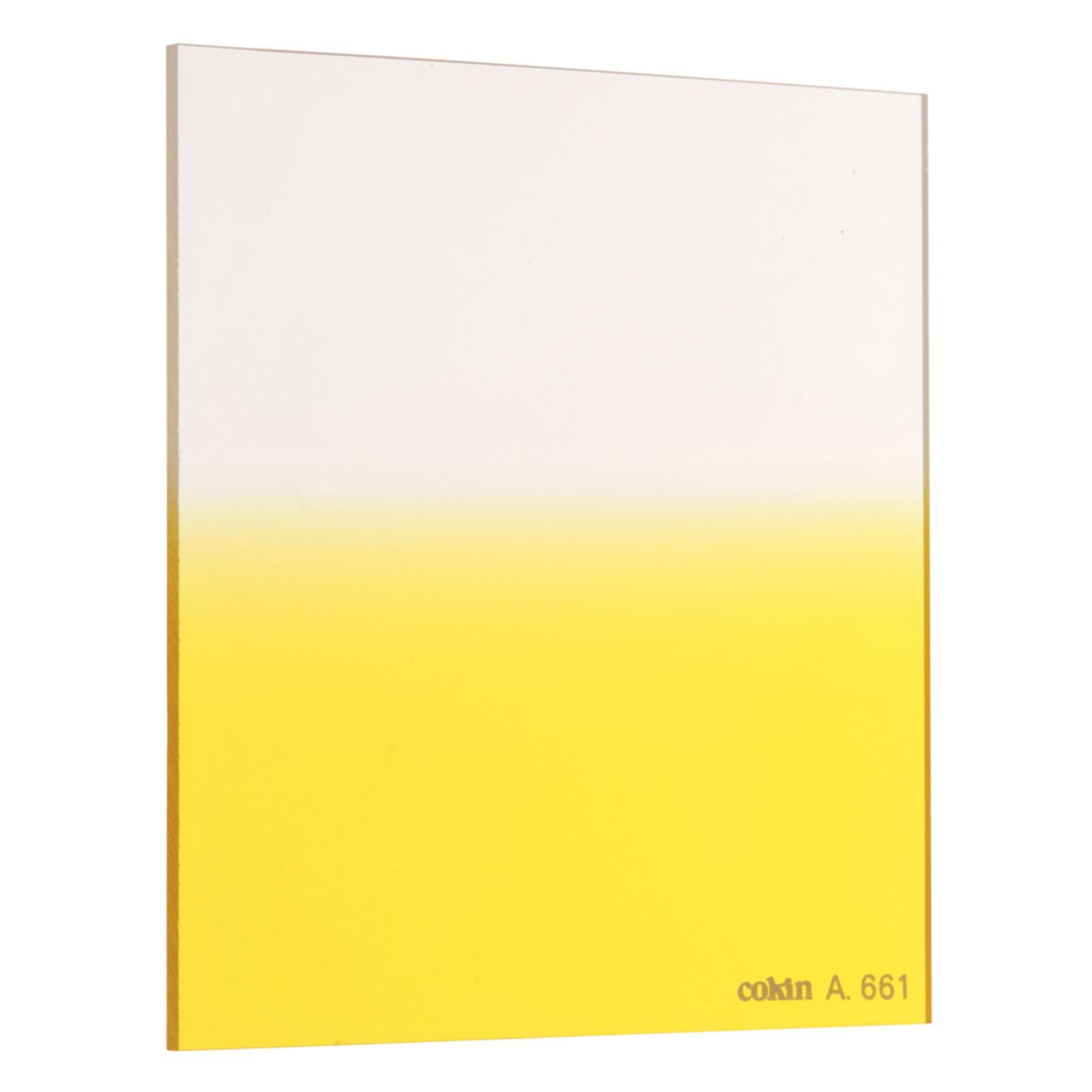 Cokin A661 Verlauf leuchtend Gelb 2