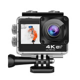 Ki-Tec 4K-60fps Action Camera inkl. Dual-Screen