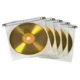 Hama 51176 CD/DVD Doppel-Schutzhüllen 50er-Pack Weiß