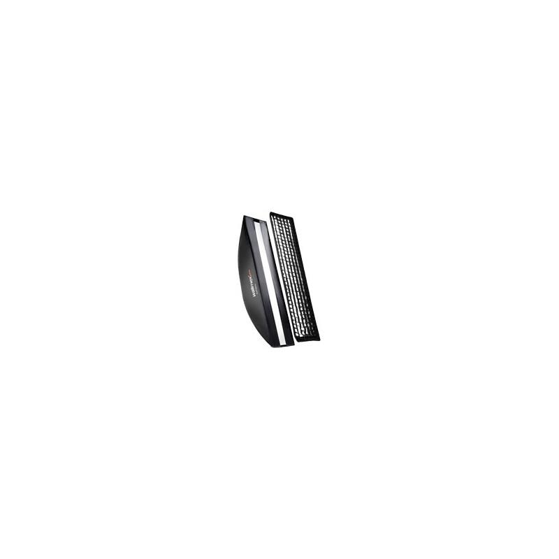 walimex pro Softbox PLUS Orange Line 40x180