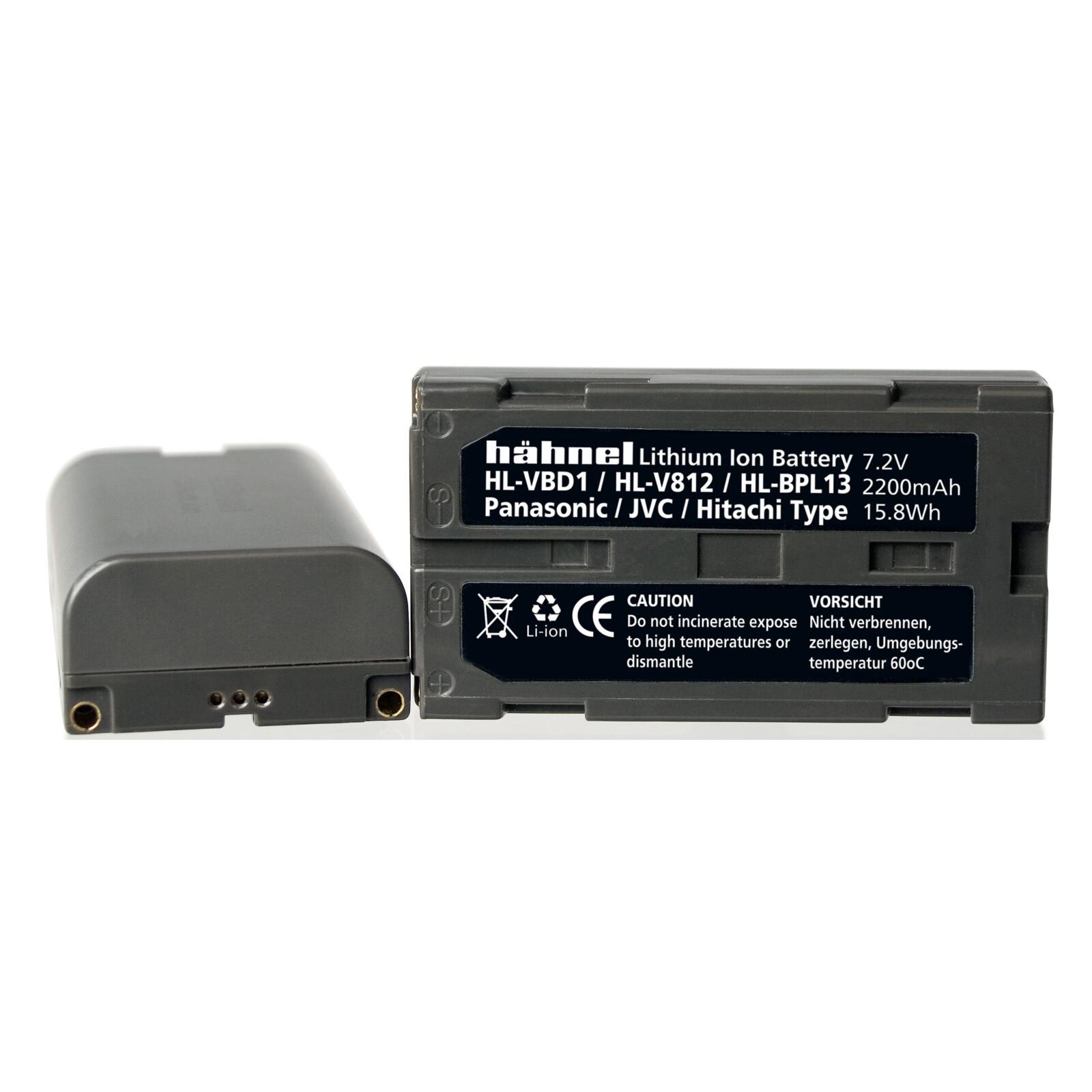 Hähnel Panasonic VBD-1/CGA-B202 Akku