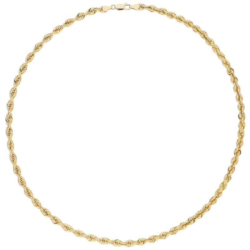 Goldkordelcollier 50cm