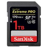 SanDisk CF 1TB Extr Pro 170MB/s V30 UHS-I U3