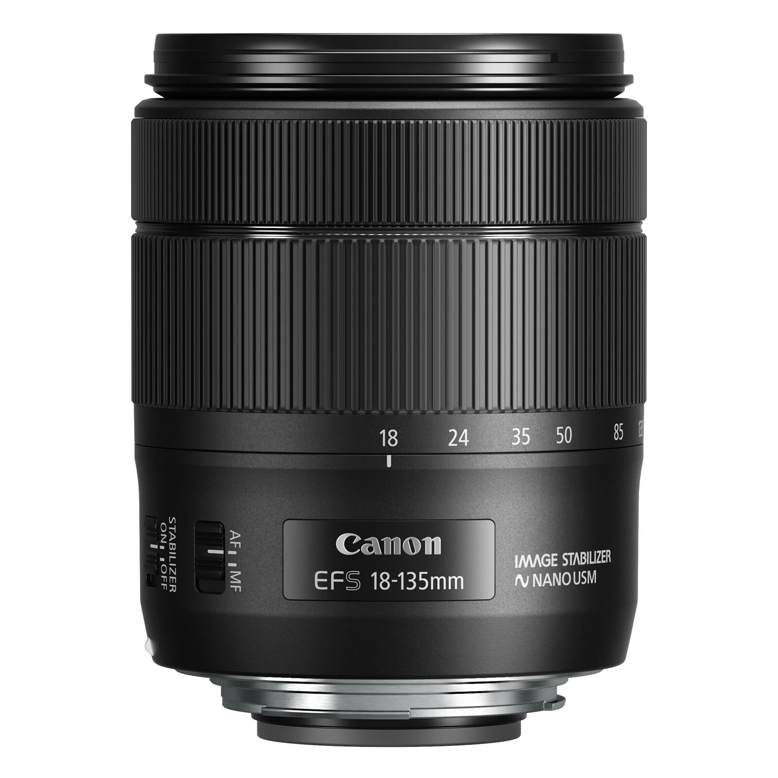 Canon EF-S 18-135/3,5-5,6 IS USM + UV Filter