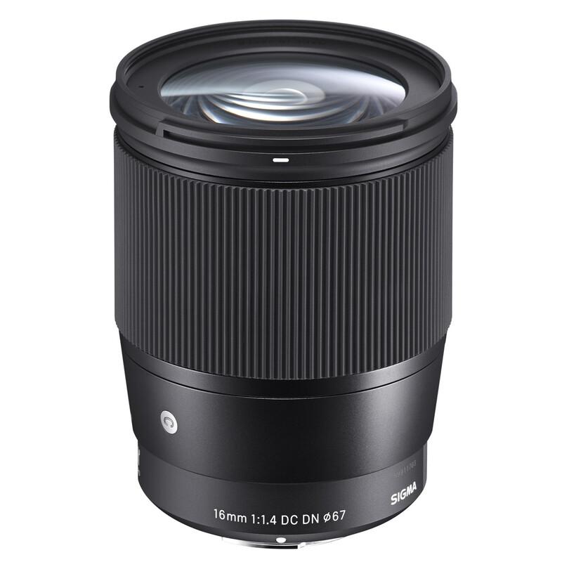 Sigma 16/1,4 DC DN L-Mount + UV Filter