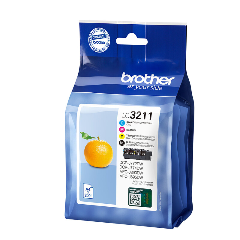 Brother LC3211VALDR Tinte Multipack