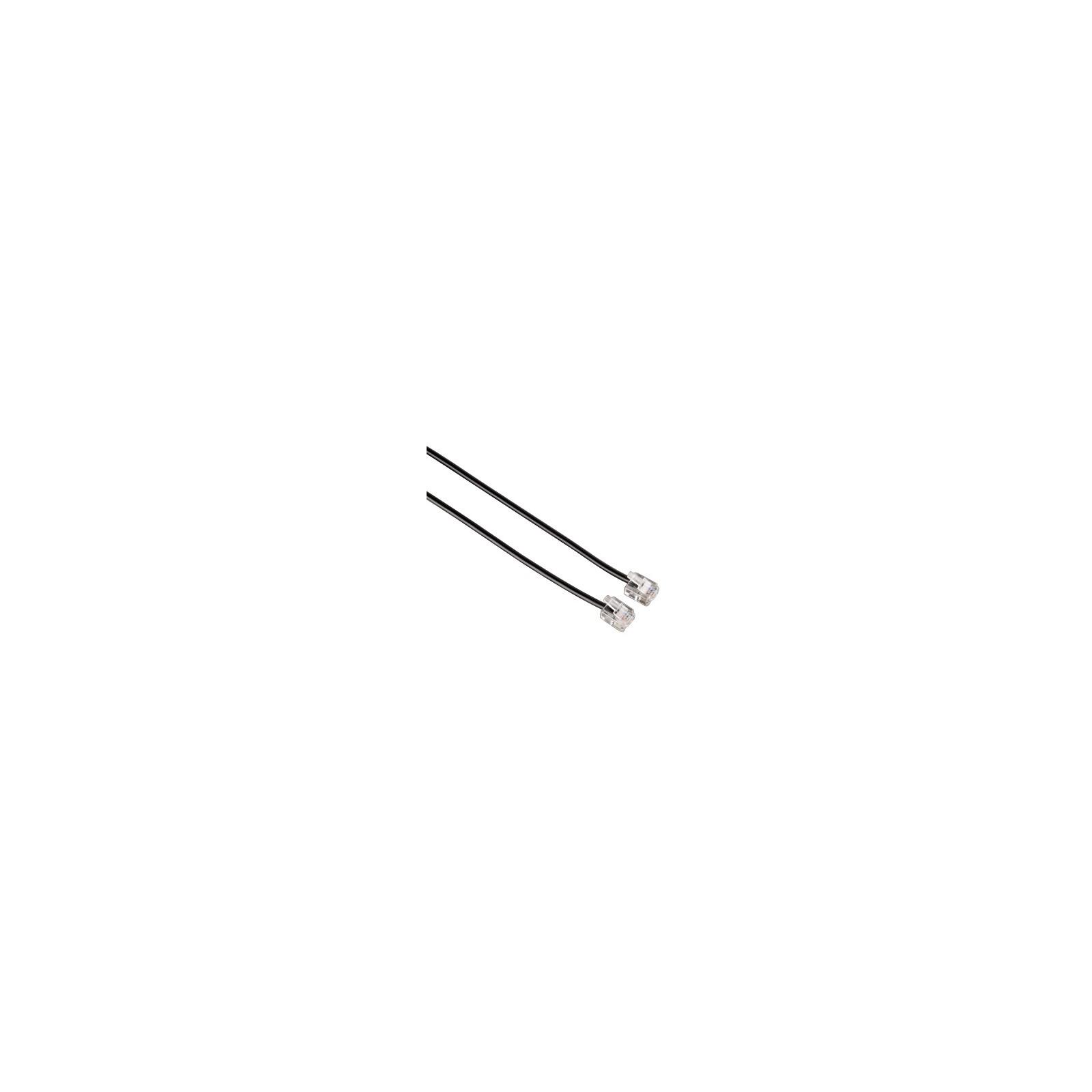 Hama 44934 Modularkabel, Stecker 6p4c - Stecker 6p4c, 3 m, S