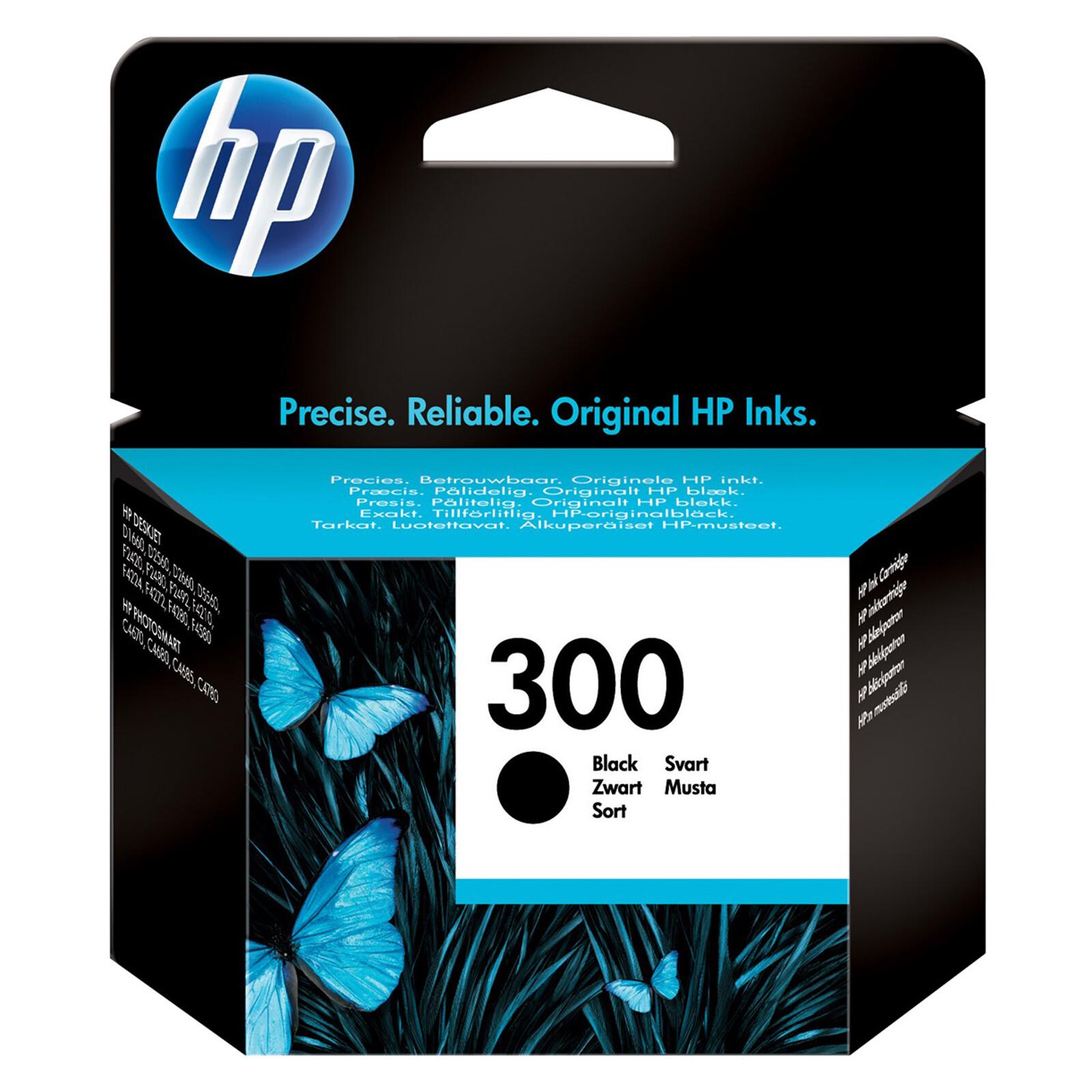HP 300 CC640EE Tinte black 4ml