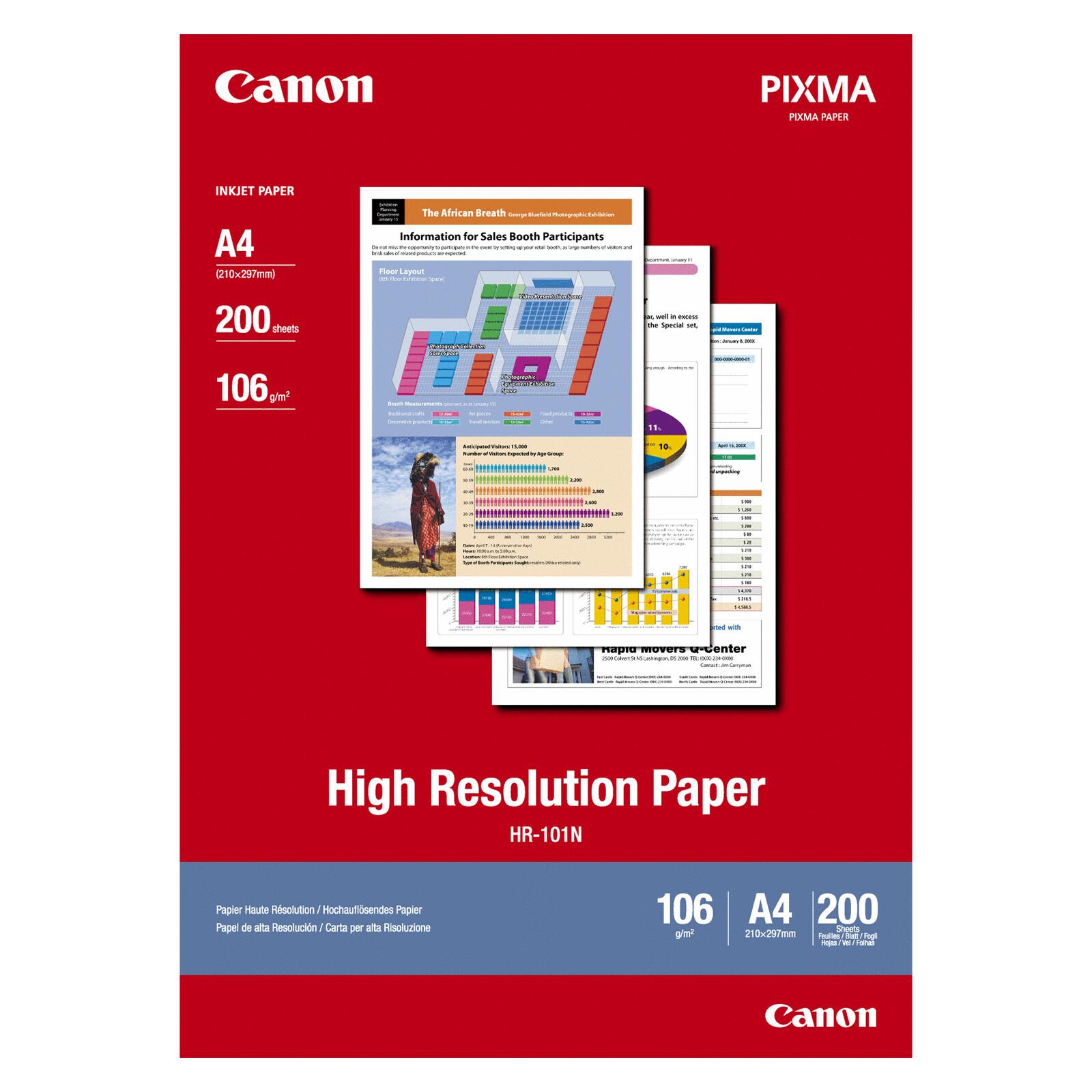 Canon HR-101 A4 200Bl 106g high Resolution