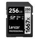 Lexar SDXC 256GB Professional UHS II U3 250Mb/s