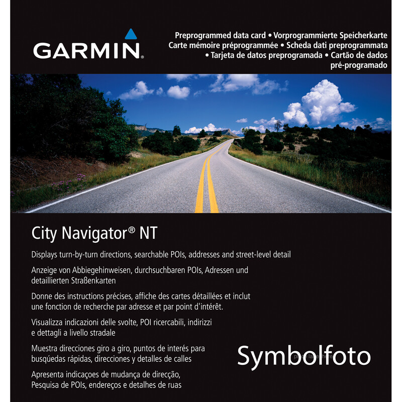 Garmin City Navigator Südafrika NT