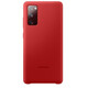 Samsung Silicone Cover Galaxy S20 FE red