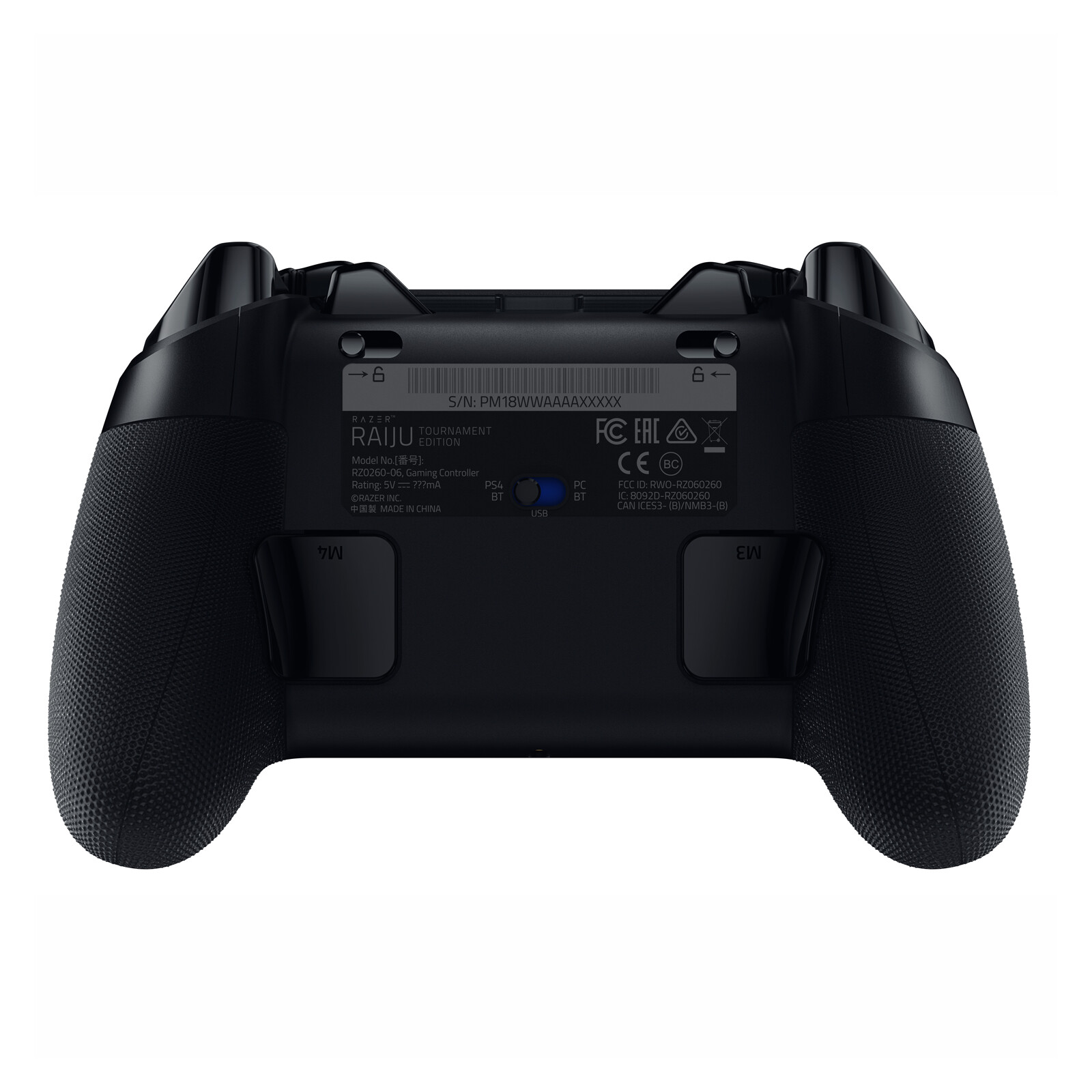 Razer Raiju Tournament Edition PS4 Controller