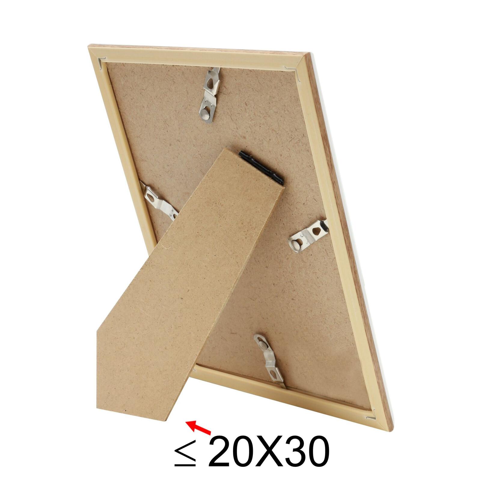 Deknudt S46WG4P1 13x18 Kunststoff Holzoptik natur