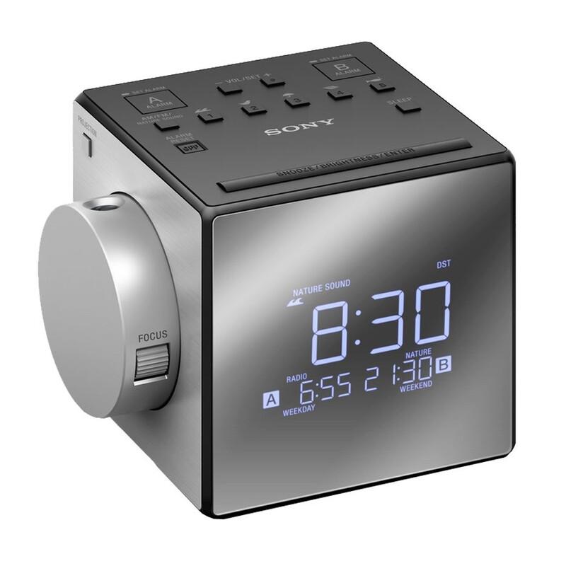 Sony ICF-C1PJ Uhrenradio mit Projektor