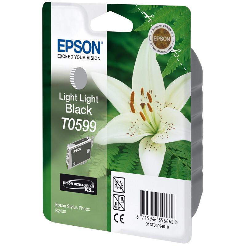 Epson T0599 Tinte Light Black 13ml