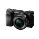 Sony ALPHA 6100 + SELP 16-50/3,5-5,6 OSS PZ schwarz