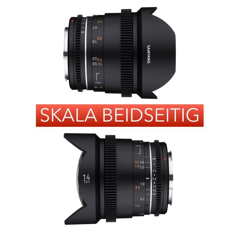 Samyang MF 14/3,1 VDSLR MK2 Sony E