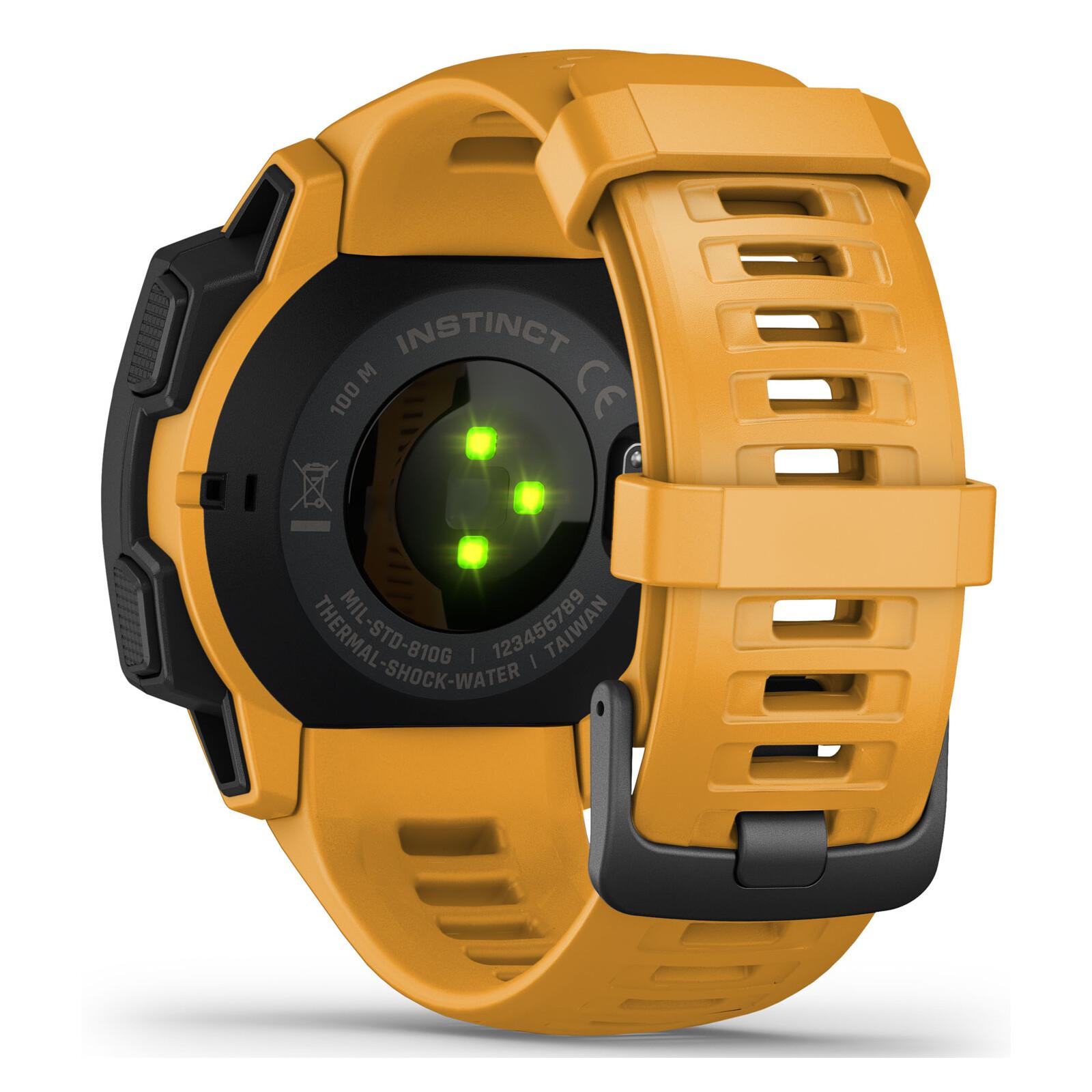 Garmin Instinct gelb/schwarz