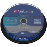 Verbatim BD-R DL 50GB 6X 10 Stück Spindel