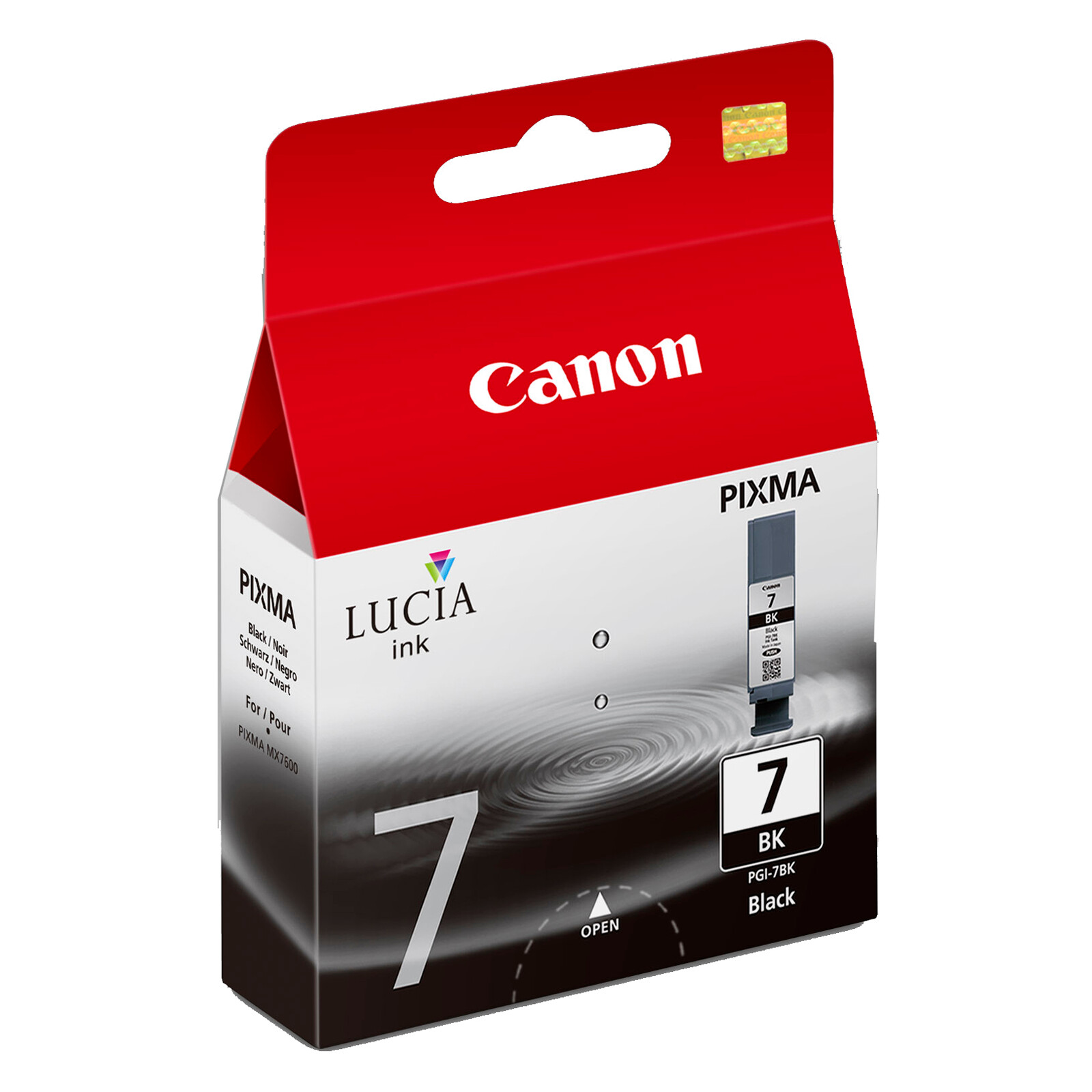 Canon PGI-7BK Tinte black