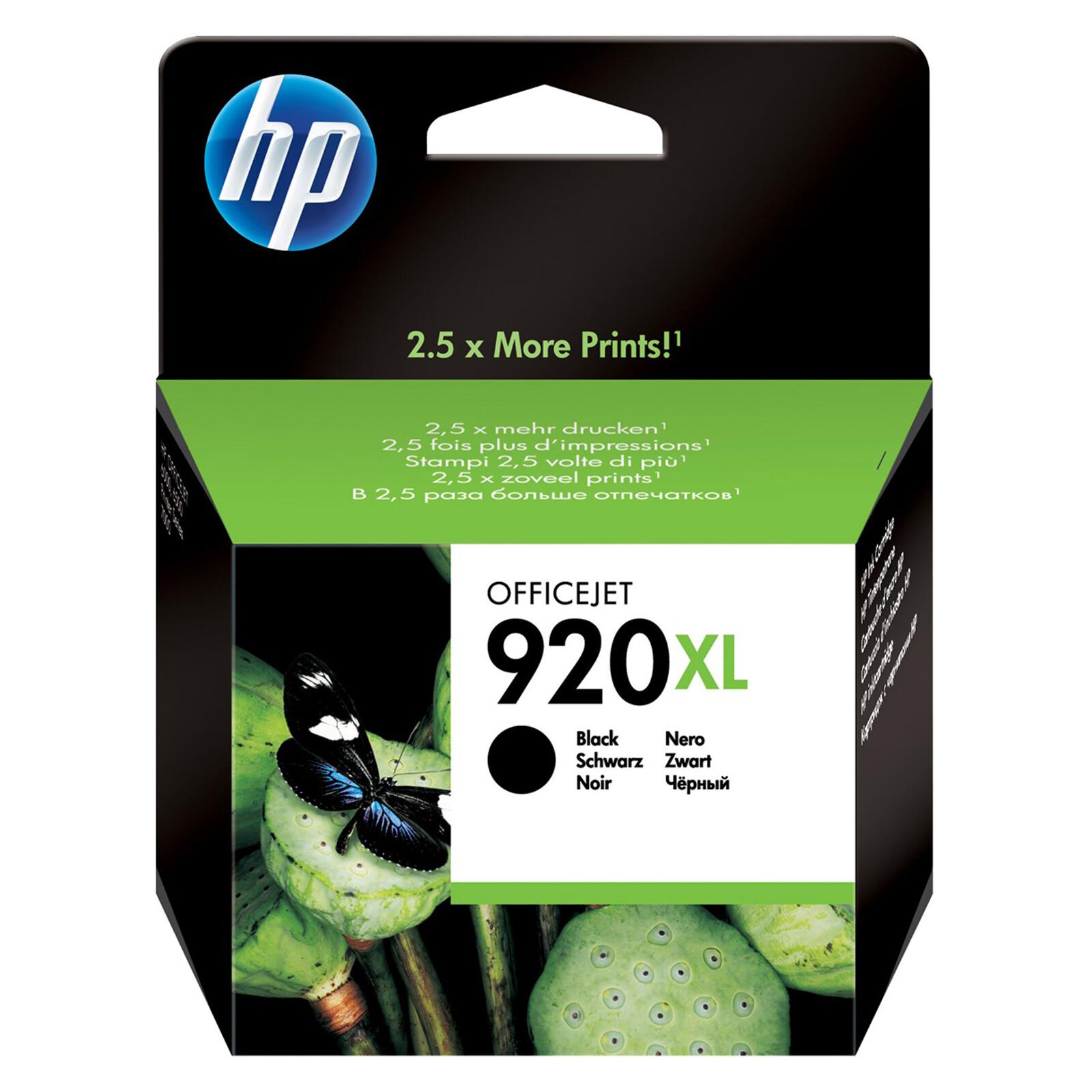 HP 920XL CD975AE Tinte black 14ml