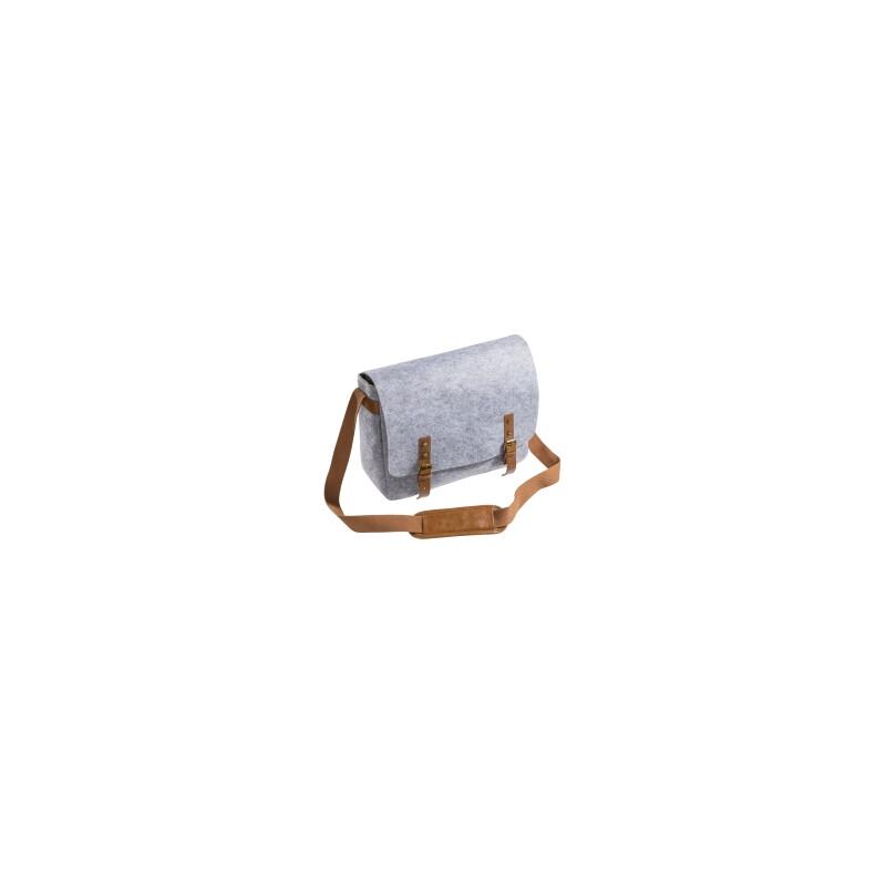 Mantona Messenger Kameratasche aus Filz