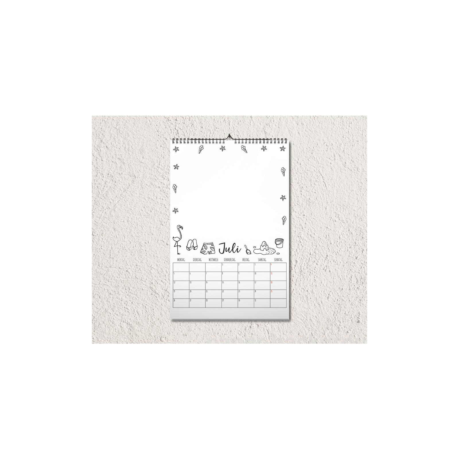 Fotokalender / Bastelkalender A4 2021