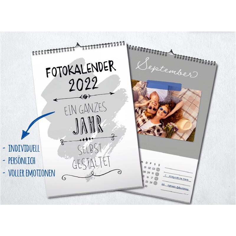 Fotokalender / Bastelkalender A4 2022