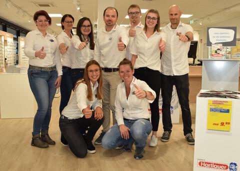 Hartlauer Team in Bischofshofen
