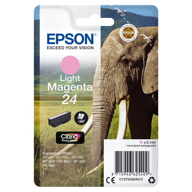 Epson 24 T2426 Tinte Photo Light Magenta 5,1ml