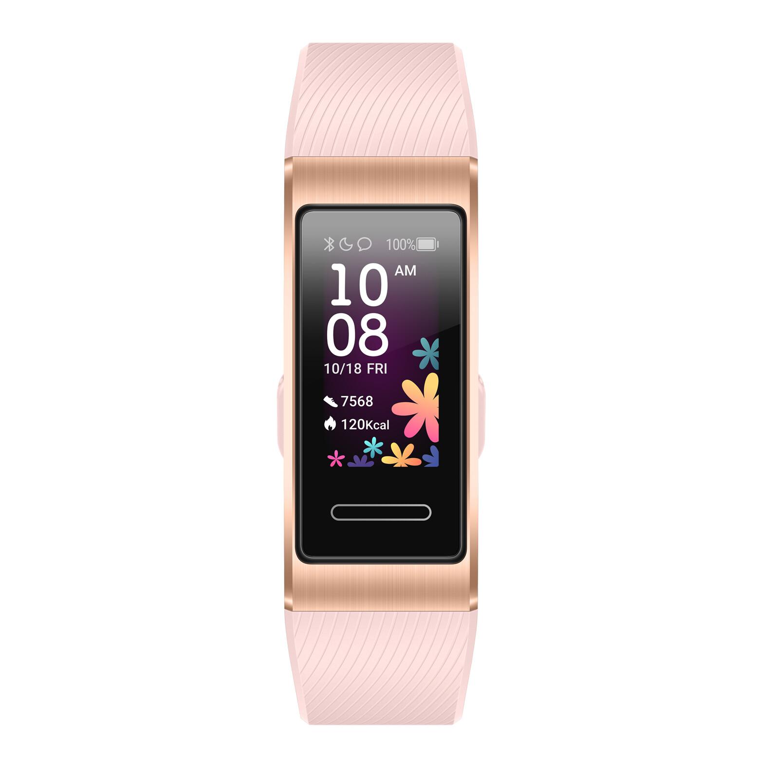Huawei Band 4 pro pink gold