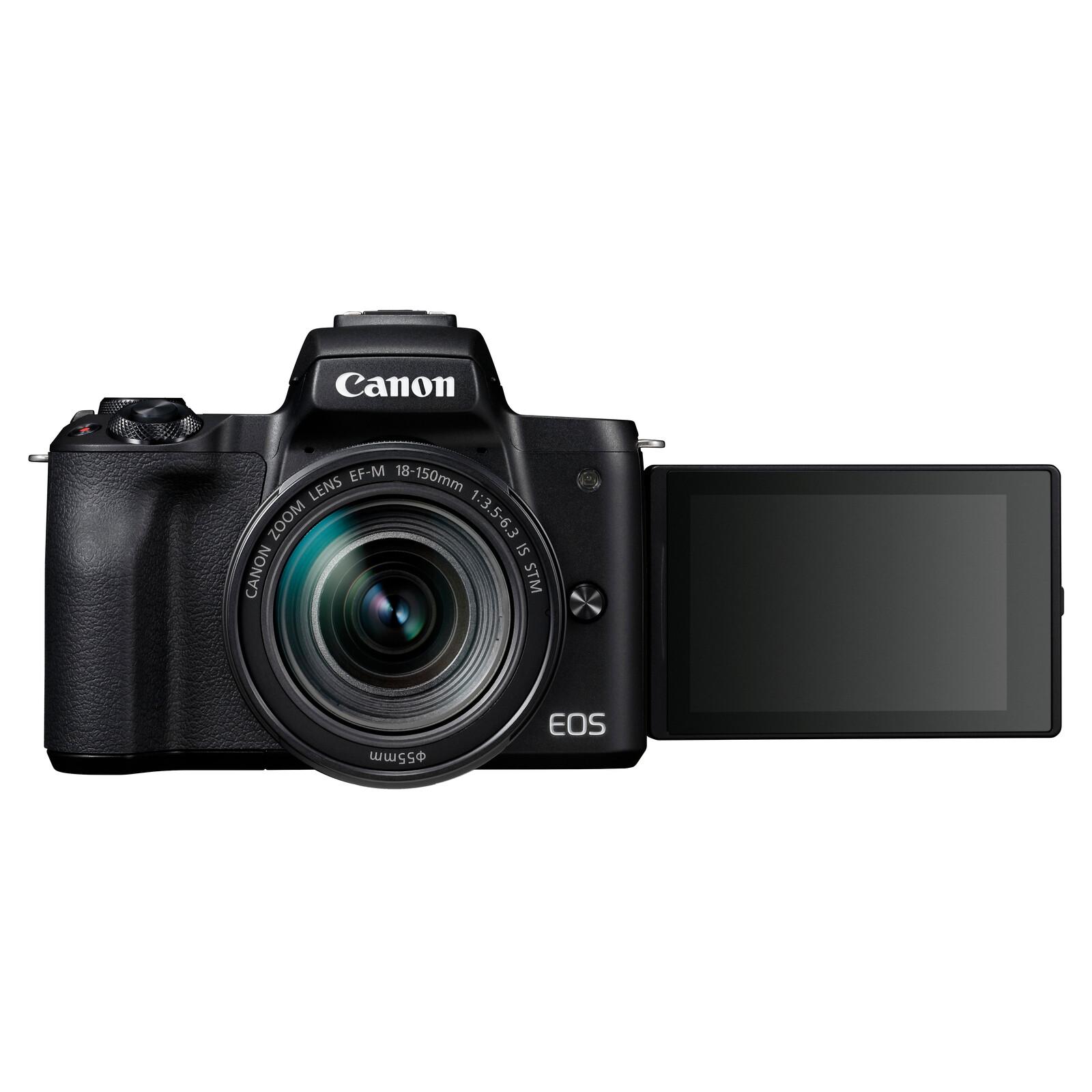 Canon EOS M50 + EF-M 18-150/3,5-6,3 IS STM Schwarz
