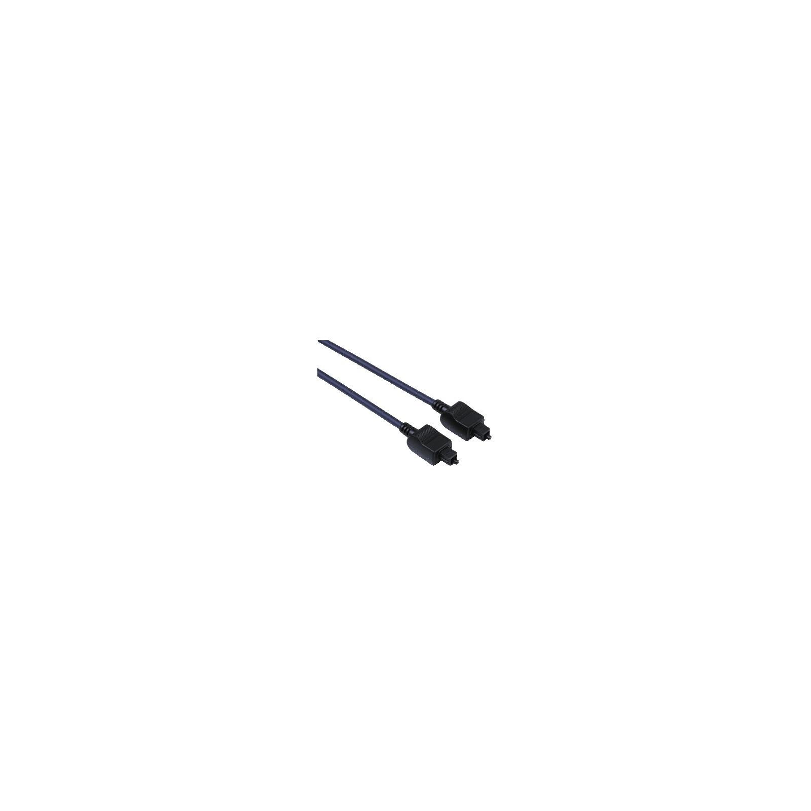 Hama 42927 Audio-Lichtleiter-Kabel ODT-Stecker (Toslink), 1,