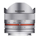 Samyang MF 8/2,8 Fisheye II Canon M silber