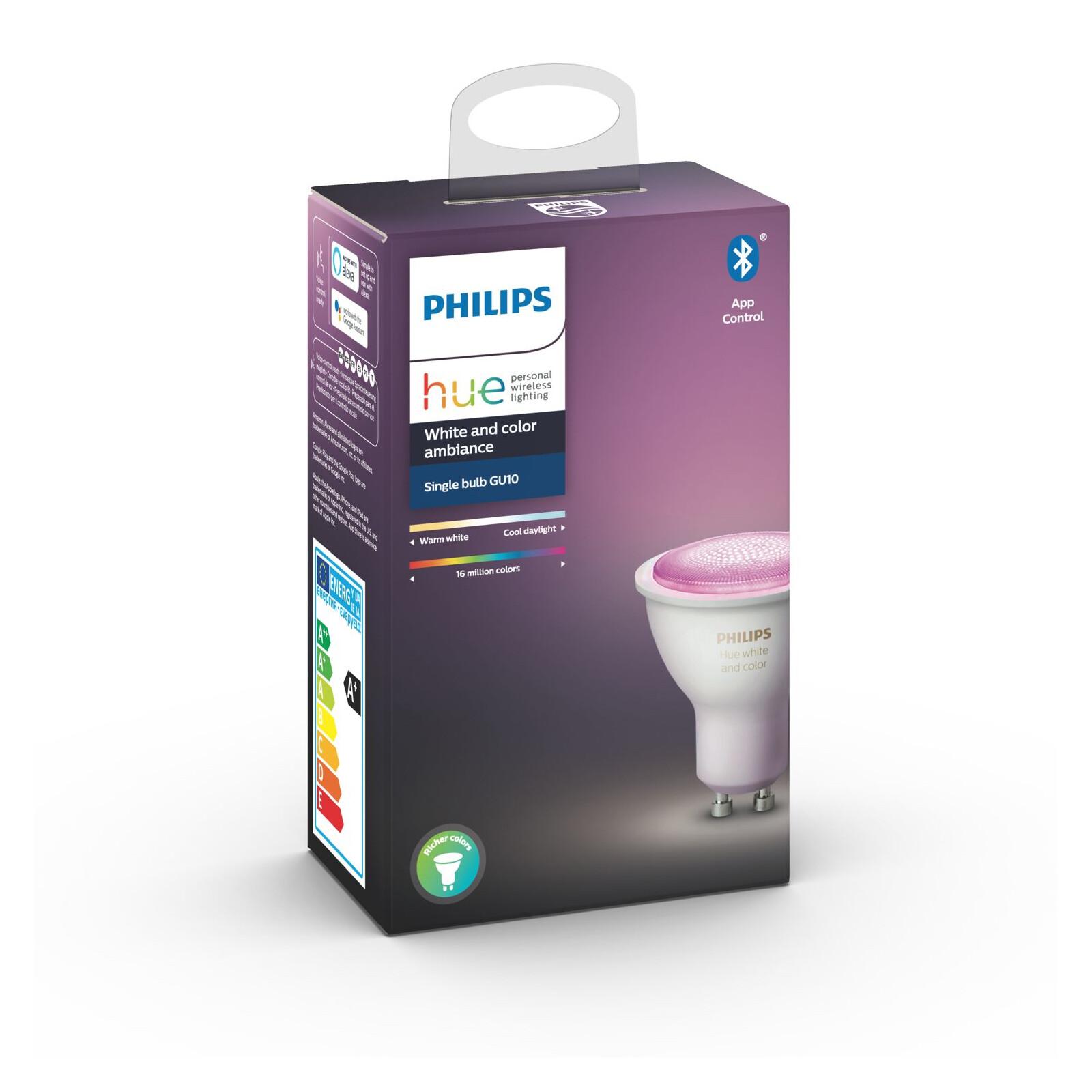 Lampe Philips Hue GU10 350lm Bluetooth