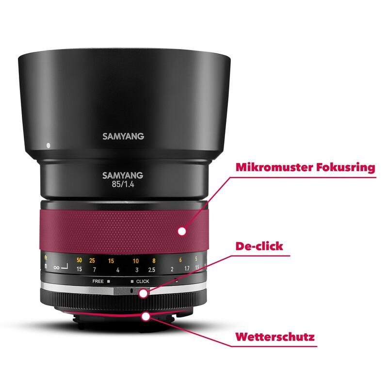 Samyang MF 85/1,4 MK2 Nikon F AE