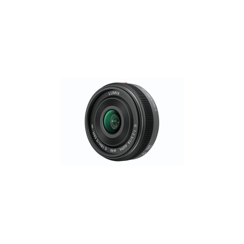 Panasonic 14/2,5 Lumix Schwarz + UV Filter