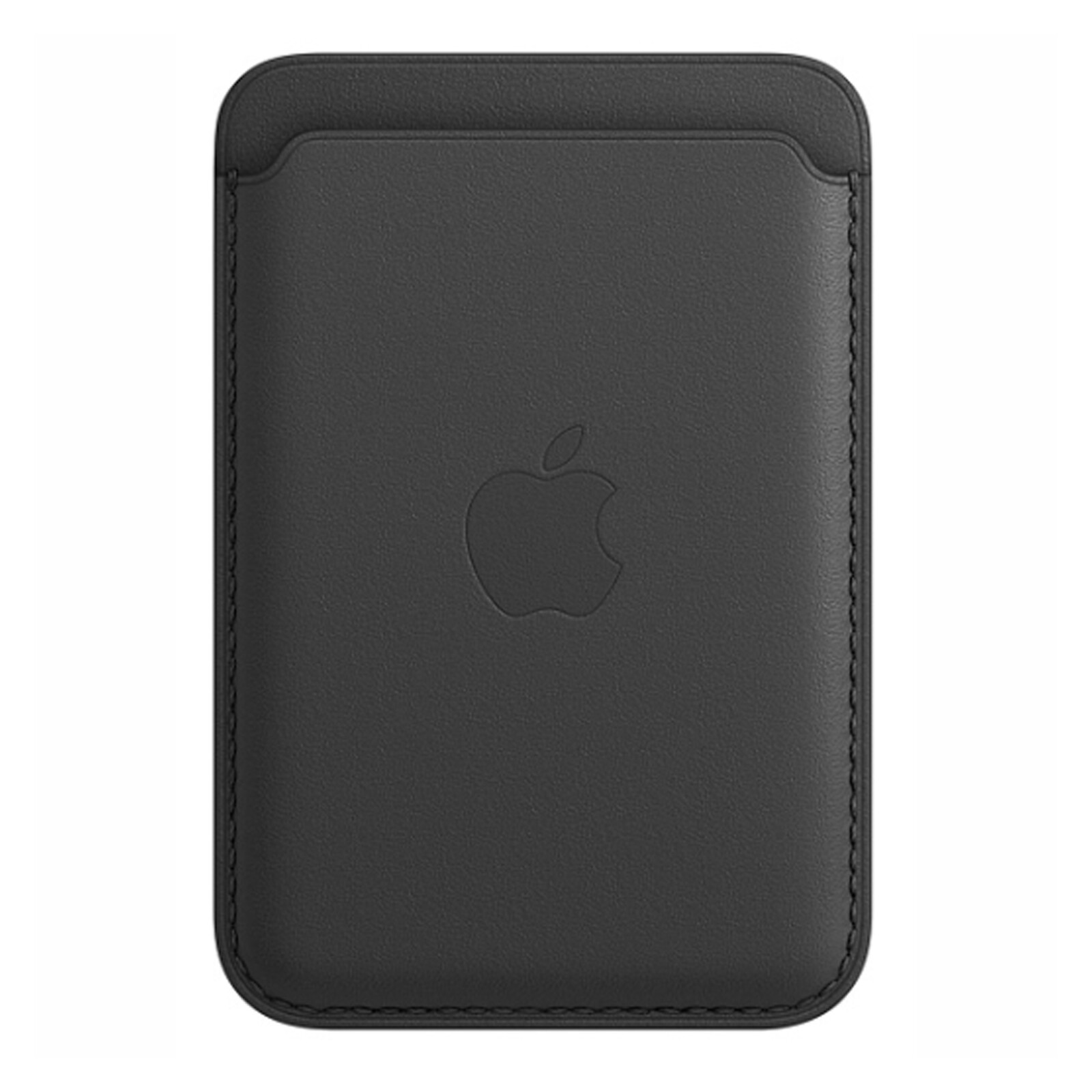 Apple iPhone Leder Wallet mit MagSafe schwarz