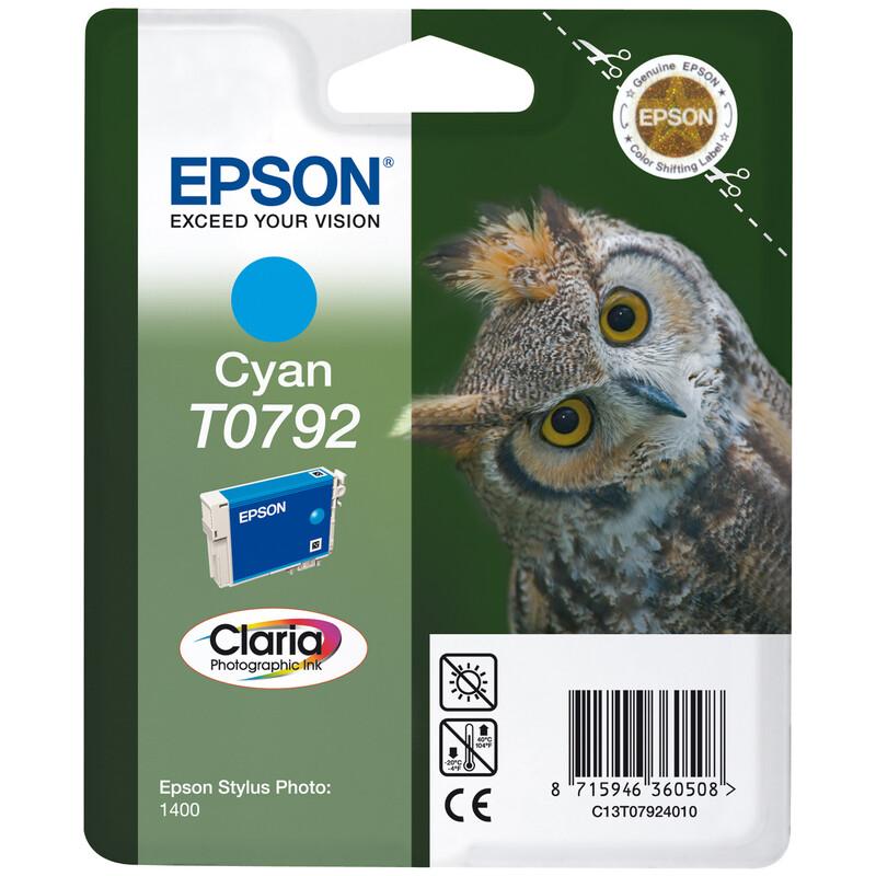 Epson T0792 Tinte Photo Cyan 11ml