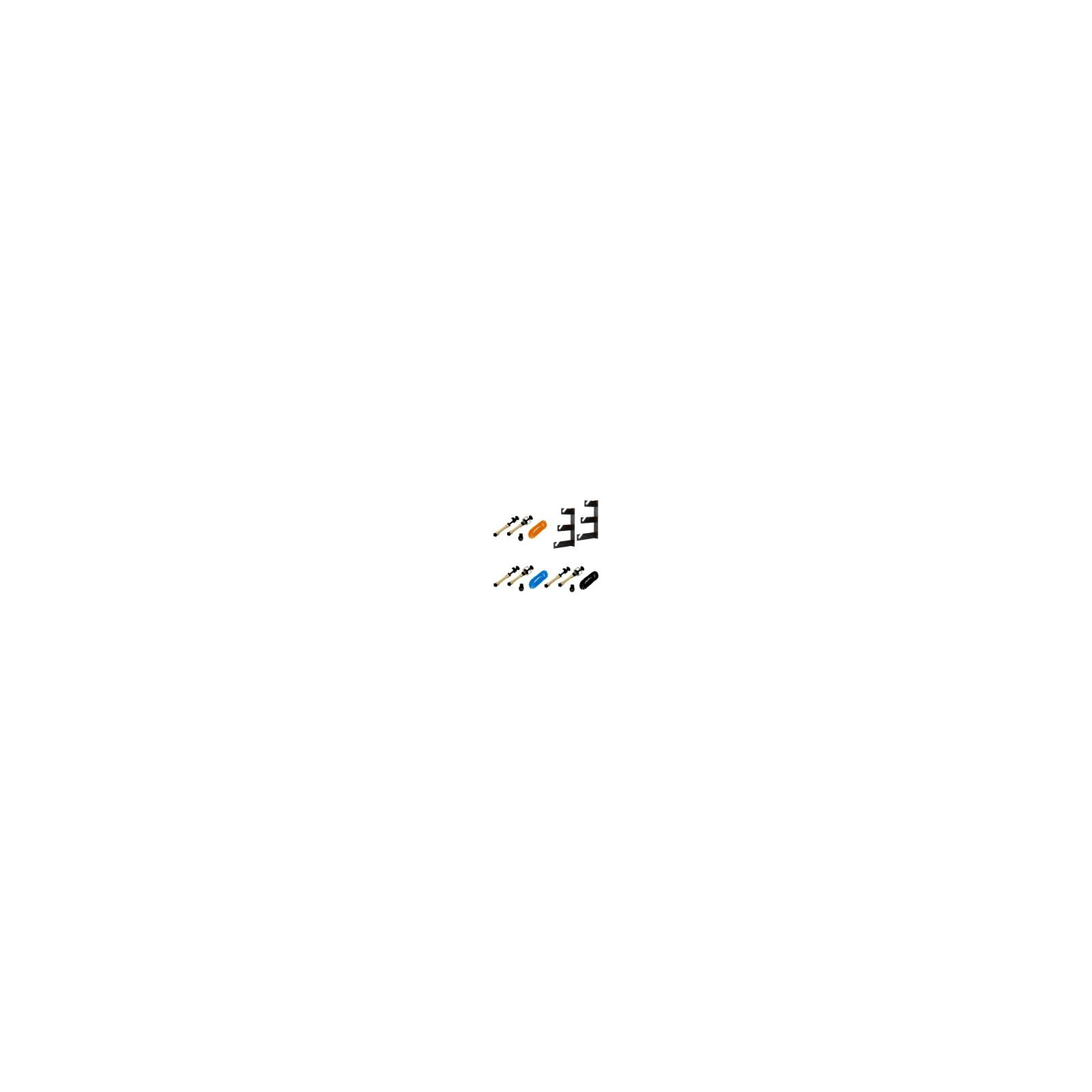 walimex 3-fach Hintergrund Wandmontageset, 3er Set