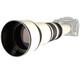 walimex pro 650-1300/8-16 DSLR C-Mount Weiß + UV Filter