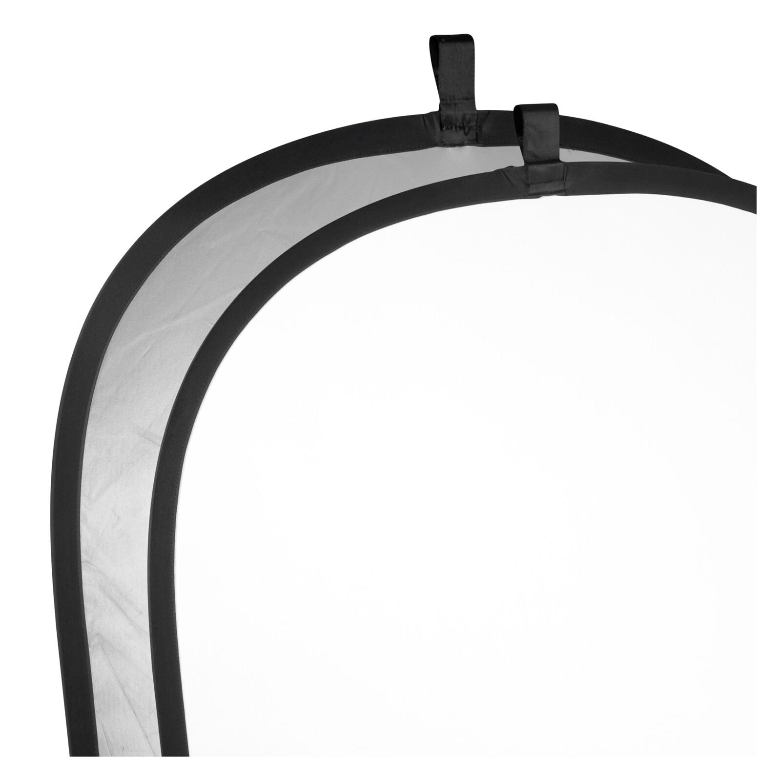 walimex Faltreflektor silber/weiß, 150x200cm