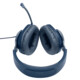 JBL Quantum 100 Over-Ear-Gaming-Headset blau