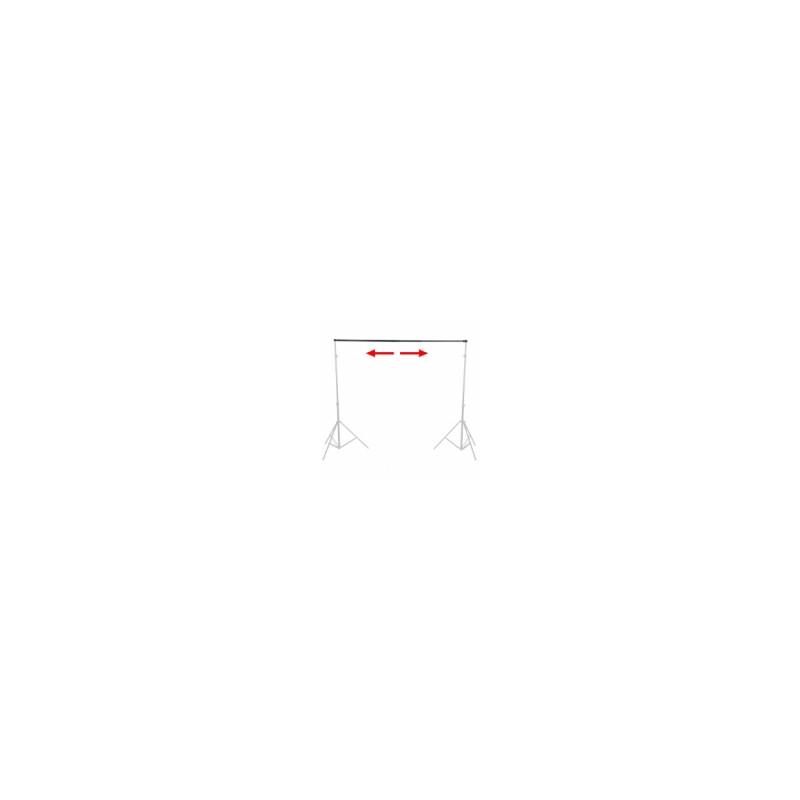 walimex TELESKOP Hintergrundstange, 120-307cm