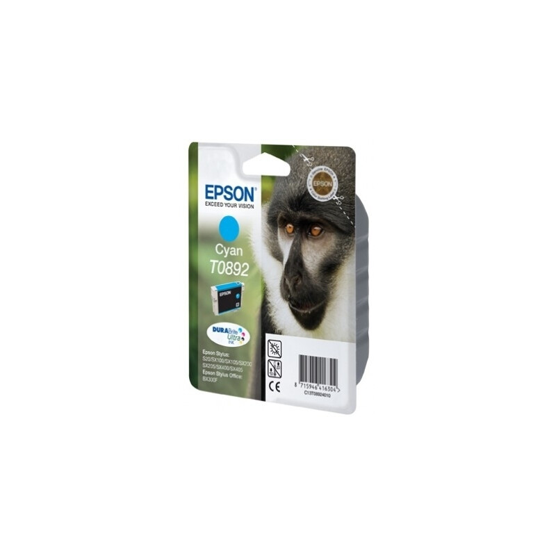 Epson T0892 Tinte Cyan 3,5ml