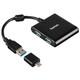 Hama 12325 USB-3.1-Hub C- Adapter Schwarz