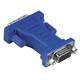 Hama 45073 VGA-DVI-Adapter, DVI-Stecker - VGA-Kupplung, verg